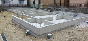 建物の基礎を補強